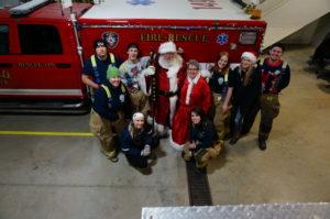 2017 December Santa's Visit